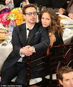 Couples united: Ethan and Ryan Hawke and Robert Downey Jr. with his wife Susan looked cute as they watched the ceremony Robert Downey Jr Wife, Susan Downey, Robert Jr, Marcus Mumford, Iron Man Tony Stark, Super Secret, Downey Junior, Celebs, Celebrities