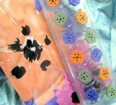 DESIGNER Fabric Shower Curtain SET ~ BOLD PURPLE N PINK ~ +12 CURTAIN HOOKS