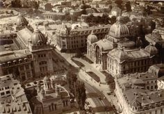 """Bucharest photos from the first decades of the 20th century – mostly from the interwar period (between the two World Wars). . ♦ The end of """"Little Paris"""" (click photo) ♦"""