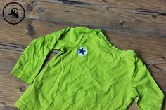 Shirt-Reparatur / Patch my shirt / Upcycling