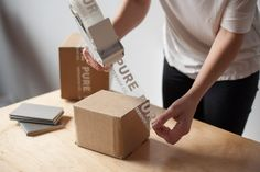 A look at how tape and stamps can elevate your box branding.