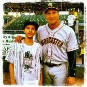 My son with Jose Canseco