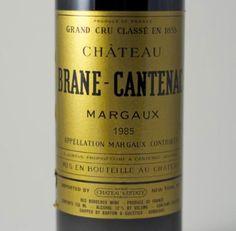 SOMMPICKS – 1985 Brane Cantenac Margaux 2eme Cru (France - Bordeaux) $79