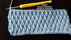How to Make Crochet Tripe Model? / How to Crochet Smock / Honeycomb S . Crochet Borders, Crochet Chart, Crochet Stitches, Crochet Baby, Free Crochet, Knit Crochet, Stitch Patterns, Knitting Patterns, Crochet Patterns