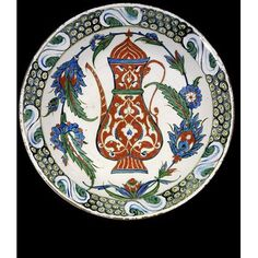 Dish      Place of origin:      Iznik, Turkey (probably, made)     Date:      1590-1600 (made)