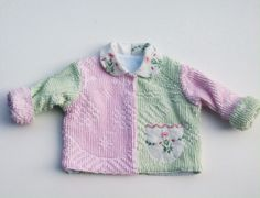 Vintage Chenille Jacket Size 12 months – Lavender and Old Lace