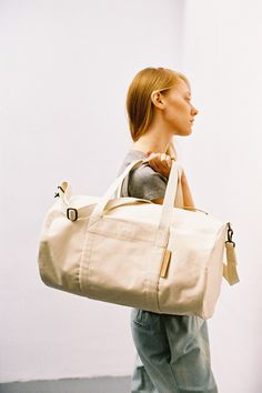 Athletic Bag Off White