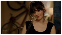 "Get the look from ""New Girl."" Totally doable and low key. They have one to get her hair too."