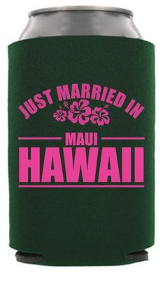 Check out this customizable product from www.totallyweddingkoozies.com//store/one-color-collapsible-wedding-can-cooler.html?template=6439&sku=TWC