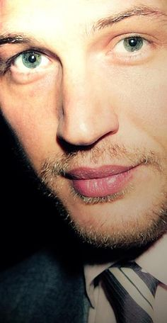 The eyes and lips of Tom Hardy (TH board repin)
