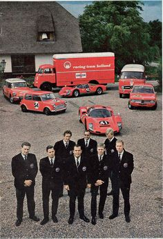 Racing Team Holland, Porsche, BMW, BMC, Citroen