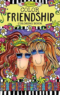 PDF Epub Color Friendship Coloring Book On The Go Series Full Online