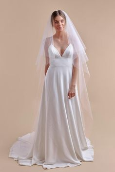 Wedding Veils by Anomalie. A veil isn't just an accessory; it's an extension of a bride's wedding day look and Anomalie wedding veils take it to a new, personal level. Camo Wedding Dresses, Lace Weddings, Wedding Dress Styles, Boho Wedding Dress, Country Weddings, Vintage Weddings, Wedding Hair, Cowgirl Wedding, Wedding Rustic