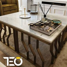 """43 Beğenme, 2 Yorum - Instagram'da TEO Metal Mobilya (@teofurniture): """"Çok zevkli seçimler yaptınız, güle güle kullan sevgili @kzb_nk_reiki_masterteacher ⛔ Ürünler…"""" Coffe Table, Dining Table, Reiki, Furniture, Instagram, Home Decor, Decoration Home, Room Decor, Dinner Table"""