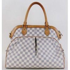 Louis Vuitton Azur Damier Special Order Trevi GM Shoulder Bag