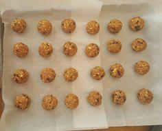 Pumpkin Chocolate Chip Energy Balls Prep http://cleanfoodcrush.com/pumpkin-energy-balls/
