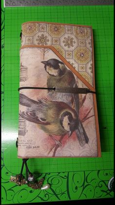 Travel Journal created by crafter  Andrea Steinmetz.