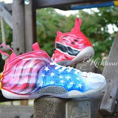 Trinidad and USA Foamposite Customs by Kickasso