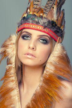 Fashion makeup styling
