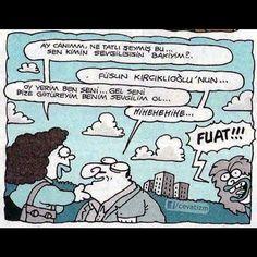 Fuat kaç Fuat������������#karikatur #mizah #komik #karikatür http://turkrazzi.com/ipost/1521674299843425077/?code=BUeEraqAjM1