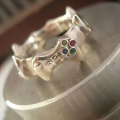 Xbox Controller Wedding Band on http://www.drlima.net