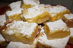 Trisha Yearwood Lemon Squares Recipe
