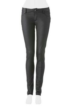Harris Scarf. Urban jeans Co. Coated super skinny jean. Black.