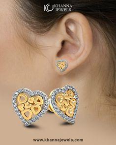 H-I, I1-I2 JewelAngel 10k Rose Gold Diamond Accent Interlocking Heart with Wings Necklace