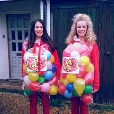 Jelly Belly Bean fancy dress costume