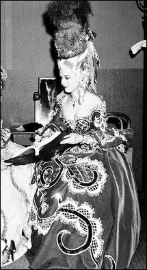 .Ruth Hussey as the Duchess de Polignac