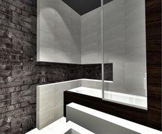 Znalezione obrazy dla zapytania cegła w łązience