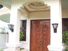 carved entrance