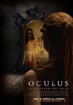 The back of Karen Gillan's head takes centre-stage in this new poster for cult horror Oculus Horror Movie Posters, Best Horror Movies, Scary Movies, Hd Movies, Movies Online, Movie Tv, Terror Movies, Streaming Hd, Streaming Movies