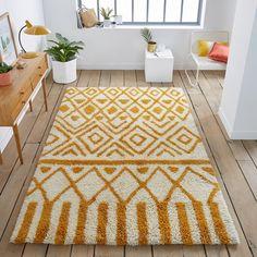 Ocrul 100% wool rug