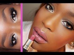 Ideas For Eye Makeup Tutorial African American Make Up Easy Makeup Tutorial, Makeup Tutorials Youtube, Makeup Tutorial For Beginners, Daytime Eye Makeup, Prom Makeup, Makeup Geek, Wedding Makeup, Makeup Case, Covergirl Makeup