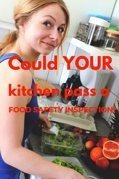 Could your kitchen pass a food safety inspection? Take this quiz and find out! Avoid wasting food by storing it and preparing it properly. 1 Year Baby Food, Kitchen Pass, Safety Inspection, Food Photography Tips, Zone 5, Food Hacks, Food Tips, Food Safety, Baby Food Recipes