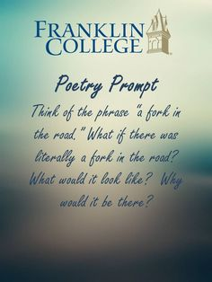 poetry writing prompts for college students