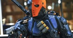 Arrow Season 5 Finale Brings Back Manu Bennett as Deathstroke? -- New photos posted by Stephen Amell and producer Marc Guggenheim confirm Deathstroke is returning to Arrow, but there may be a twist. -- http://tvweb.com/arrow-season-5-finale-deathstroke-manu-bennett/