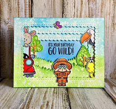 Gerda Steiner Designs, LLC: Guest Designer - Wild Birthday