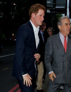 Prince Harry arrives at the Dorchester Hotel for the Sentebale Summer Party 7 May 2014