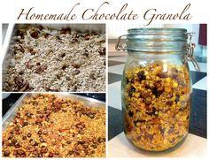 Homemade Chocolate Granola/Müsli <3 Recipe on my blog: http://style-quite.blogspot.cz/2014/10/recipe-homemade-granola.html