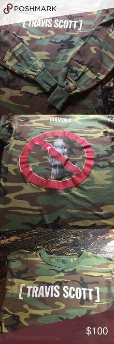 Diamond Supply Co. Travis Scott cano shirt Travis Scott long sleeve camp top. Diamond Supply Co. size M Diamond Supply Co. Shirts Tees - Long Sleeve