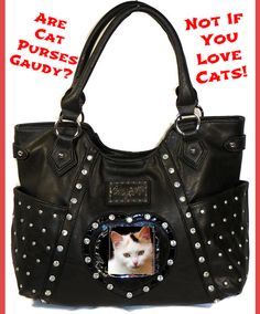 Cat Purses, Cat Wallets - they are all so cute!