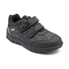Boys School Shoes: Black Leather Boys Riptape School Shoes http://www.startriteshoes.com/boys-shoes/school-shoes