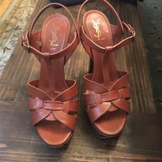 YSL Tribute sandals Priced to sell this are $900+  no box but they come with the original YSL shoe bag for storage. Great condition. I'm selling because I don't wear them that much and I would love to see them go to a loving new home. Yves Saint Laurent Shoes Sandals