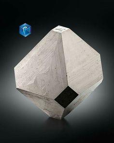 NEW MINERAL  Carrollite - mim 2024 - Congo Kamoya, Kambove, Katanga  Cu(Co,Ni)2S4  Largest crystal: 3.9 cm Dimensions: 4.0 x 4.0 x 4.0 cm  Intact, symmetrical and very lustrous cubo-octahedron with a bit of matrix attached to one of the main faces.  Cubo-octaèdre intact, symétrique et très brillant avec un reste de matrice sur l'une des faces principales. Posted on Facebook by Mineral Joy