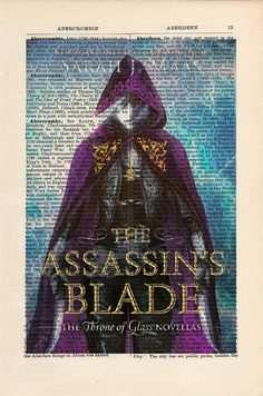 Throne of Glass The Assassin's Blade Book Cover by CartabanCards