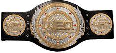 WEC championship belt