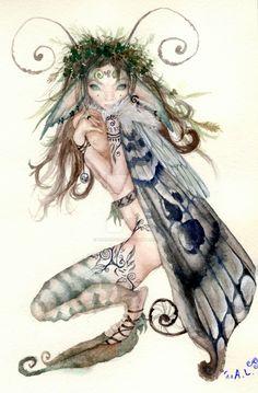 Sphingidaea faery by ThaliaAngel91 on DeviantArt