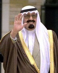 Abdullah bin Abdulaziz Al Saud  (1924 – 22 January 2015) was the King of Saudi Arabia from 2005 to 2015. He ascended to the throne in 2005 upon the death of his half-brother, King Fahd. According to Forbes, in 2013, Abdullah was among the world's most powerful people, & was ranked 8th globally. King Abdullah has long been pro-American & a long time close ally of the US.
